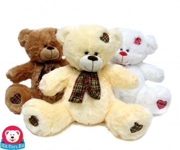 Медведь шарф 4цв, 9-1105-38