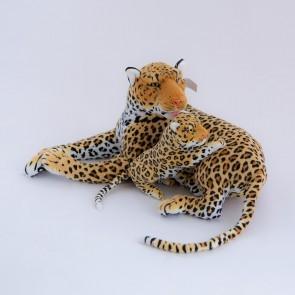 Леопард лежит с бэби,1779/68