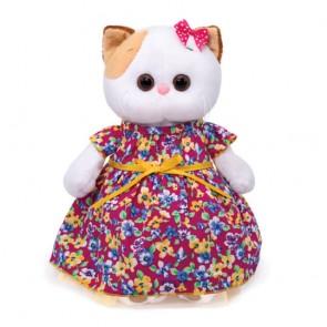бб Ли-Ли с бантом в платье с цветочн.принтом, LK27-055