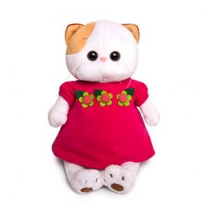 бб Ли-Ли в малин платье с цветком, LK24-020