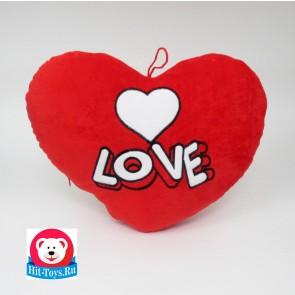 Сердце LOVE гладкое, 0672-3/40