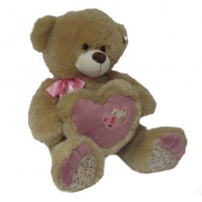 Медведь Сердце Бант,6564/52