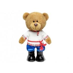 Л Медведь Оливерв рус наряде 24см муз, 8787А