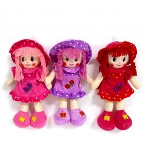 Кукла бархат платье,0646-3/35