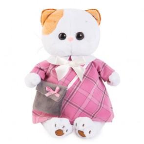бб Ли-Ли в роз платье с сер сумочкой, LK24-007