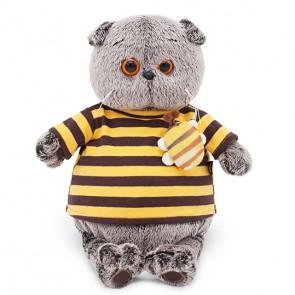 бб Басик в полосатой футболке с пчелой, Ks25-092