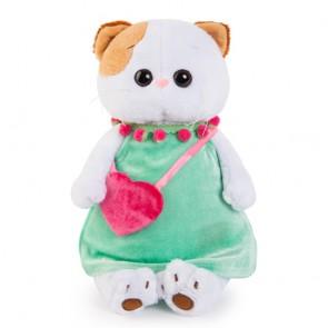 бб Ли-Ли в мятн платье с роз сумкой, LК27-005