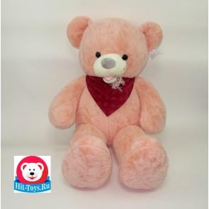 Медведь цветной с платком(разные цвета), 0020-80