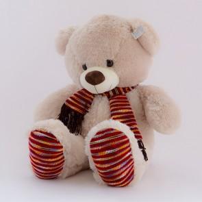 Медведь вязаный  шарф,1423/70