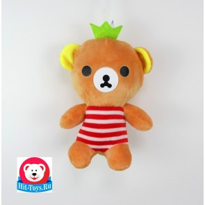 л Медведь майка полоса, 555-204/20