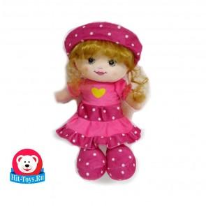 Кукла шапка платье горох, 51235-35