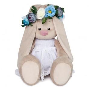 БП Зайка Ми в бел платье и веночке бол, SidL-259