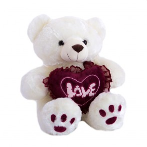 Медведь с сердцем бордо,2194/47