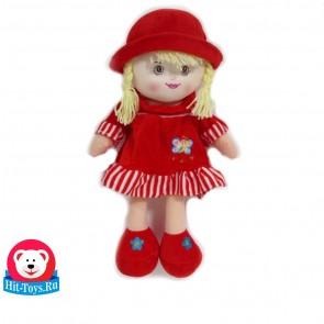 Кукла шляпа, платье велюр, 1673-7/45
