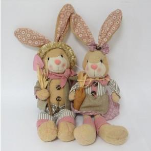 Заяц морковь+лопата,цена за 1 шт., 54334