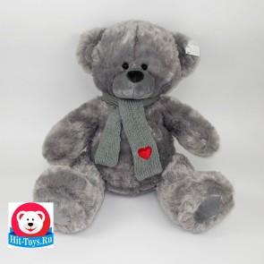 Медведь Шарф сер, 9-2218-48