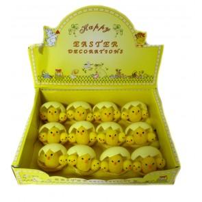 п Курочка с цыплятами в яйце, уп. 12шт,16007