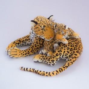 Леопард лежит с бэби,1778/96