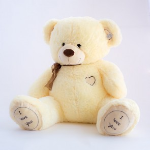 Медведь Бежевый сердце грудь,4505/90