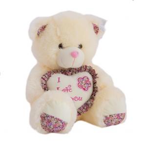 Медведь с сердцем ситец. G1421/45 SK