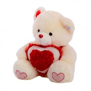 Медведь Сердце Розы1331/55