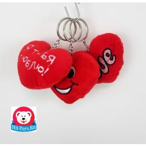 Брелок Сердце Love 50шт, 7002/9 В