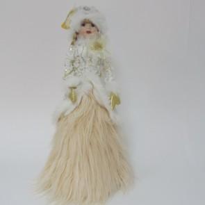 *Снегурочка, пустая, мех. платье,1870